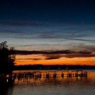 Geneva Lake At Sunset