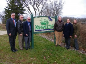 KNC - after easement signing - press release photo