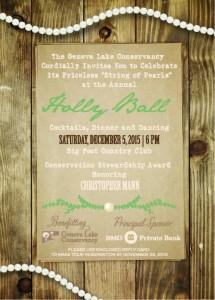2015 Holly Ball Invitation